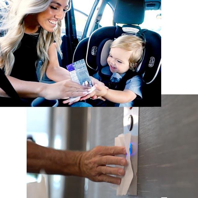Zehn-X wipes Safe and effective